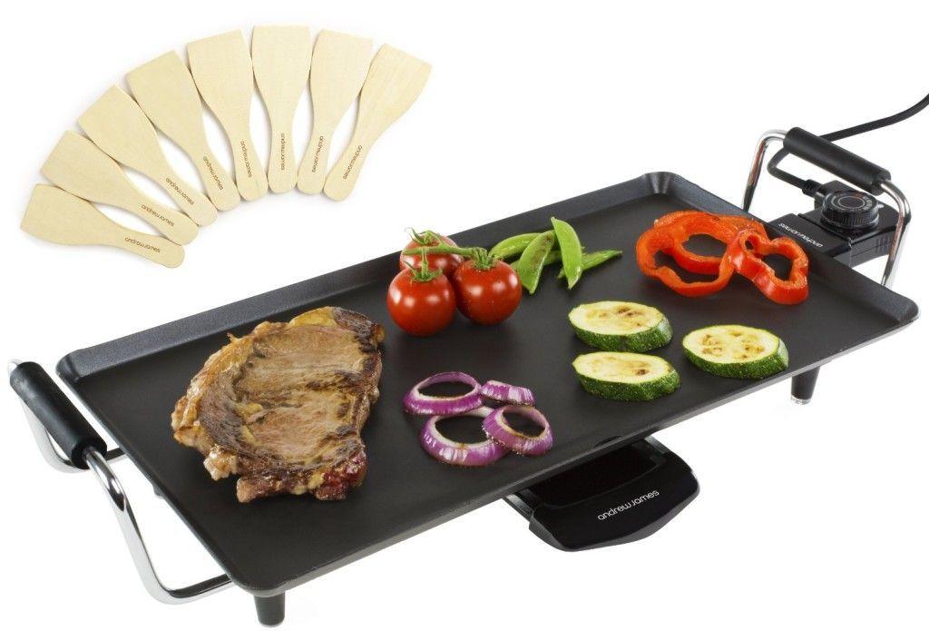 plancha teppanyaki electrica