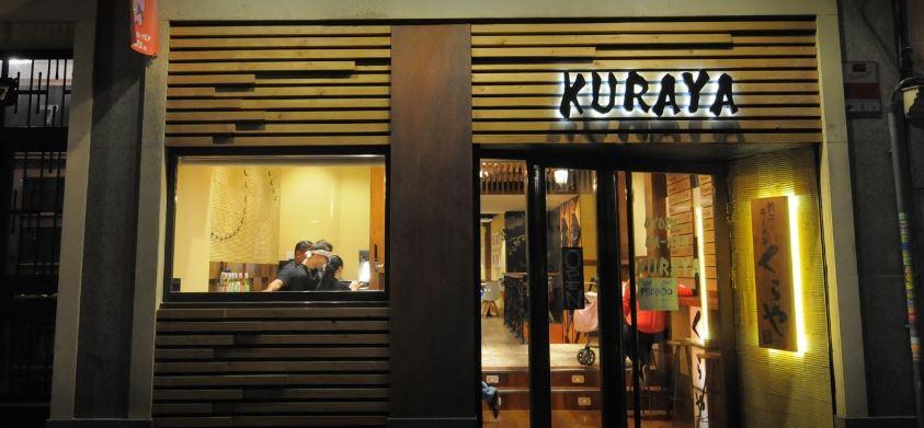 Restaurante Japones Kuraya en Madrid